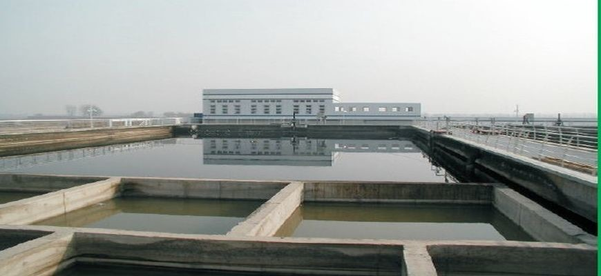 Beijing Economic Development Area WWTP – China