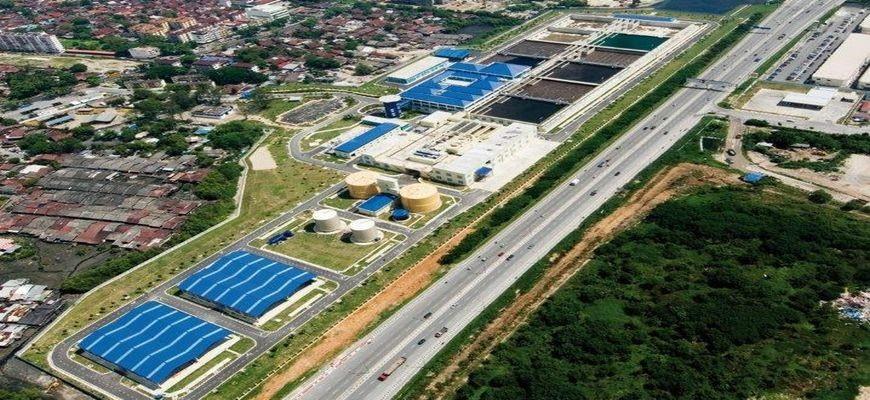 Jelutong WWTP – Malaysia