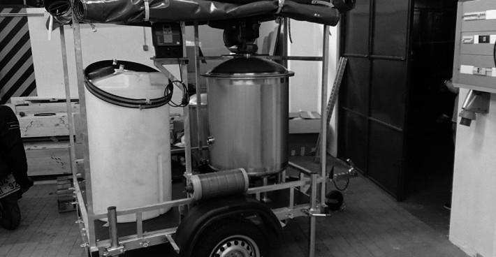 Mobile Trinkwasseraufbereitungsanlagen – Angola