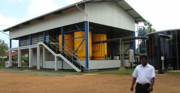 Trinkwasseraufbereitungsanlage Weligama – Sri Lanka
