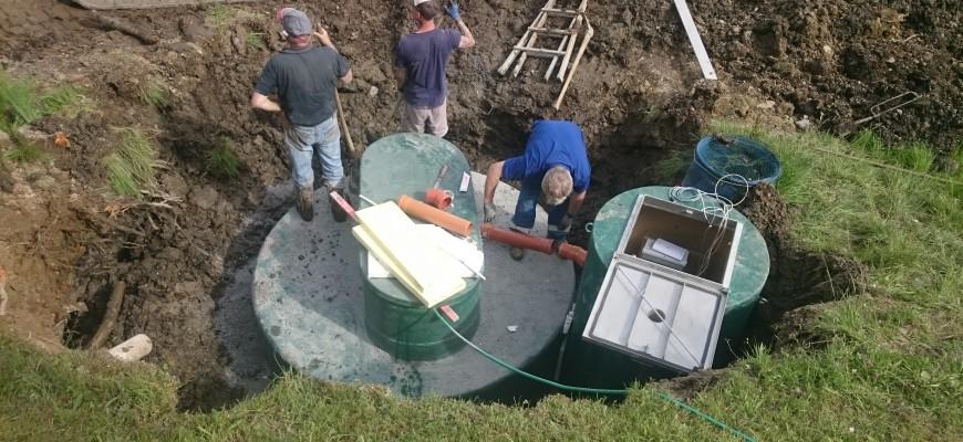 Abwasserbehandlung mit C-MEM jetzt auch für Privathaushalte