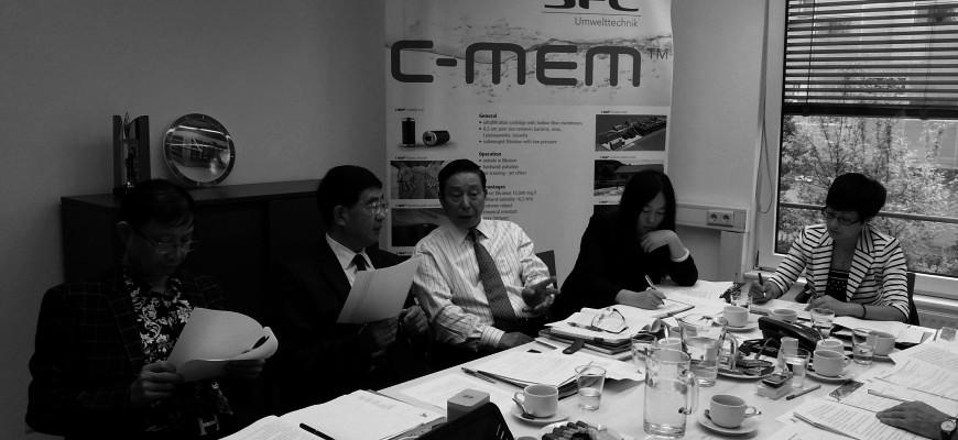 Chinesische Delegation zu Besuch bei SFC Umwelttechnik GmbH