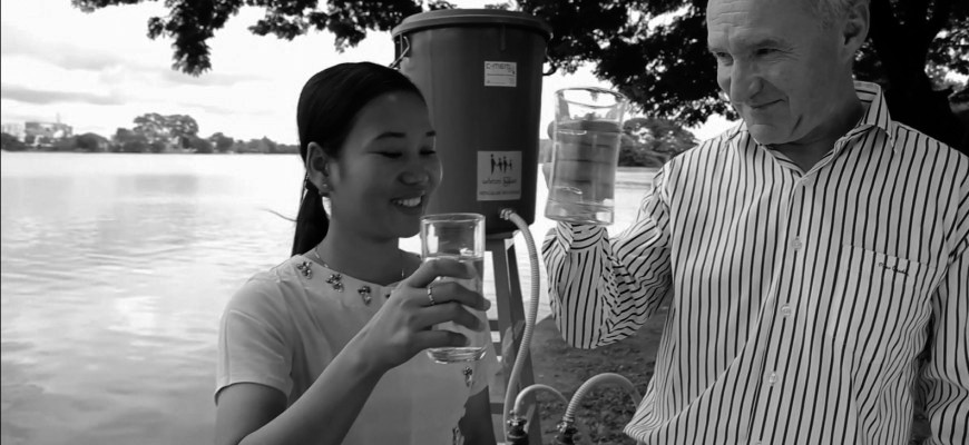 Video: C-MEM Zero Trinkwasseraufbereitung Myanmar