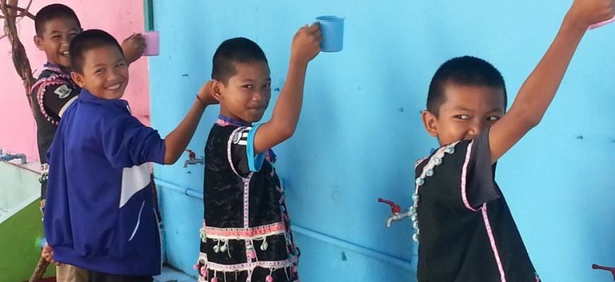 Weitere erfolgreiche Installation von C-MEM für benachteiligte Kinder in Thailand
