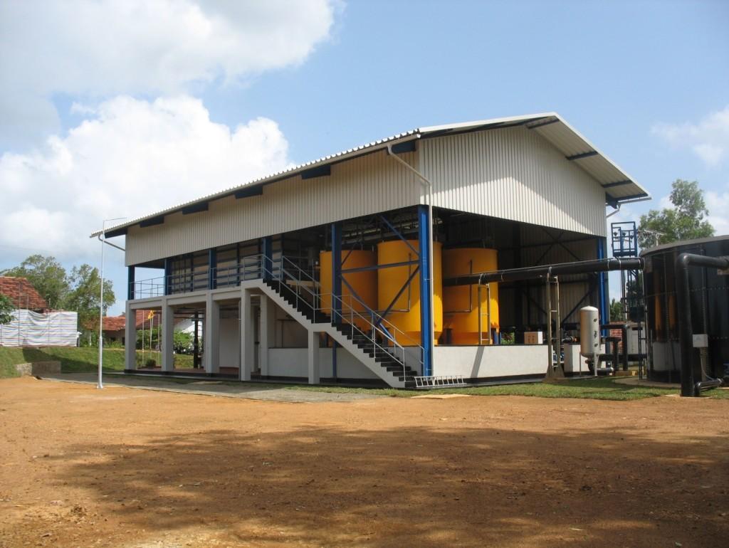 C-FLOC Anlage in Sri Lanka für 4,000 m3 pro Tag