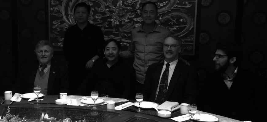 SFCU´s Managing director Dipl.-Ing. Dr. Konrad Wutscher in China