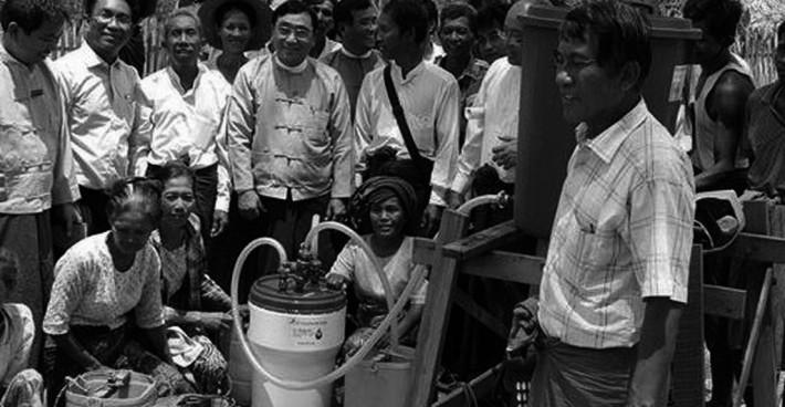 Trinkwasseraufbereitungsanlagen – Myanmar