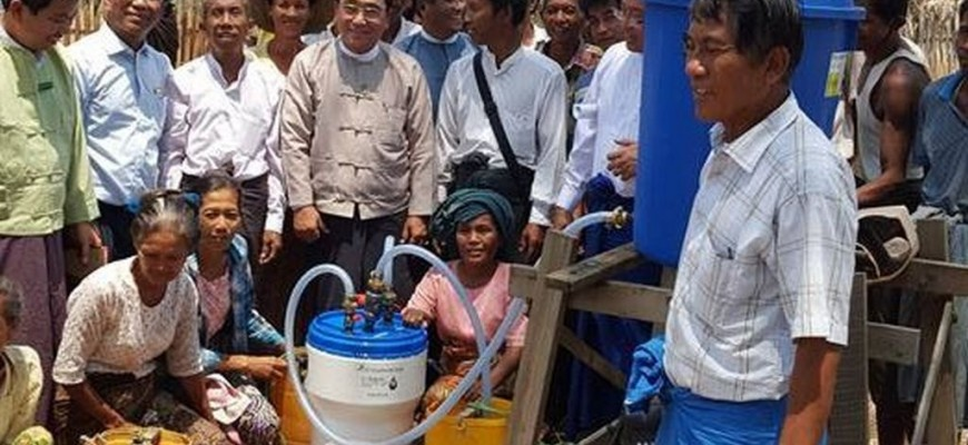 Drinking water treatment plants – Myanmar