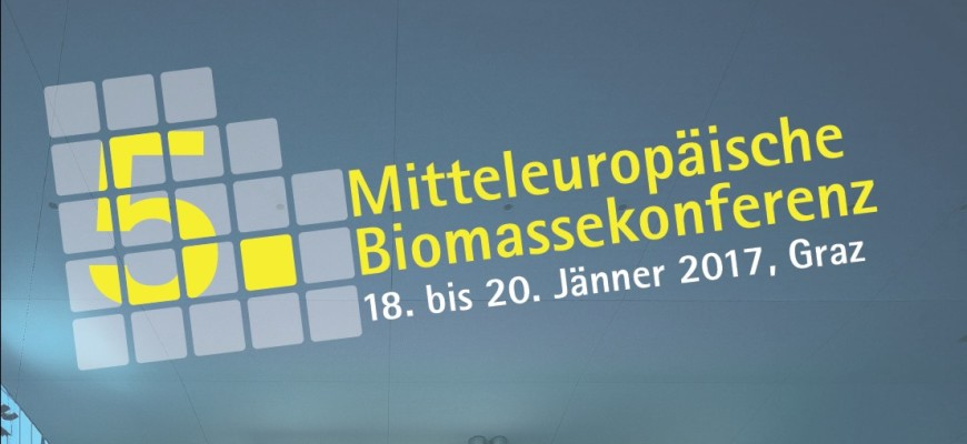 SFCUs Dipl.-Ing. Karl Winkler auf der 5. Mitteleuropäischen Biomassekonferenz in Graz