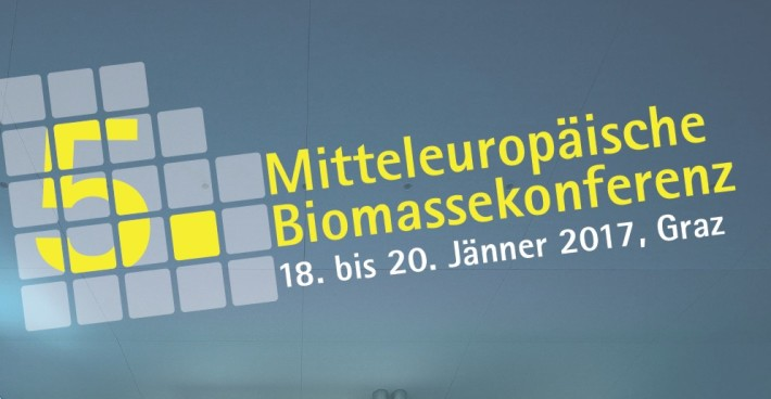 SFCU´s Dipl.-Ing. Karl Winkler at the 5th Central European Biomass Conference in Graz