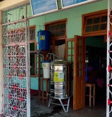 Trinkwasseraufbereitungsanlage Krankenhaus Danuphyu Township – Myanmar