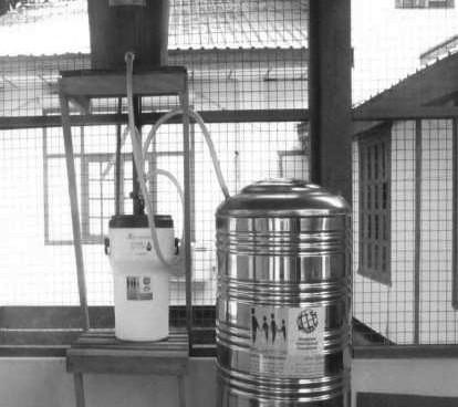 Trinkwasseraufbereitungsanlage Krankenhaus Ingapu Township – Myanmar