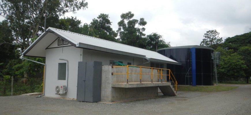 Trinkwasseraufbereitungsanlage Krankenhaus Mittaphab – Laos