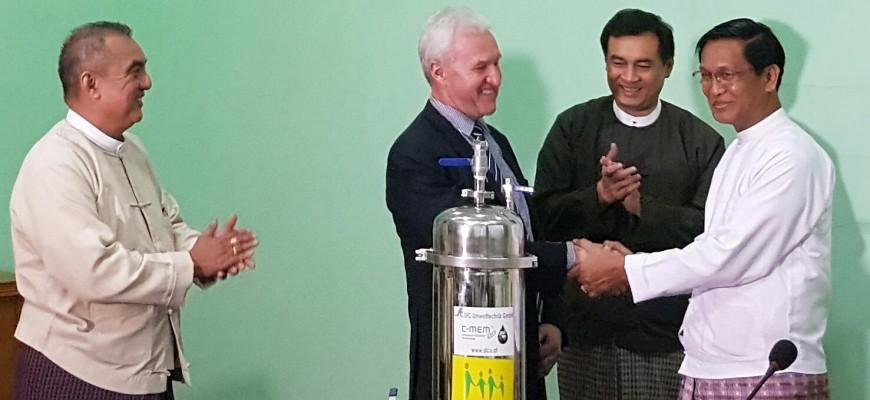 SFCU Geschäftsführer DI Franz Urstöger trifft Vizepräsidenten von Myanmar
