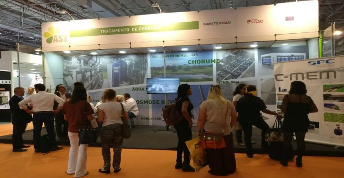 Great interest in C-TECH and C-MEM at POLLUTEC Brazil