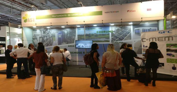 Großes Interesse an C-TECH und C-MEM auf der POLLUTEC in Brasilien