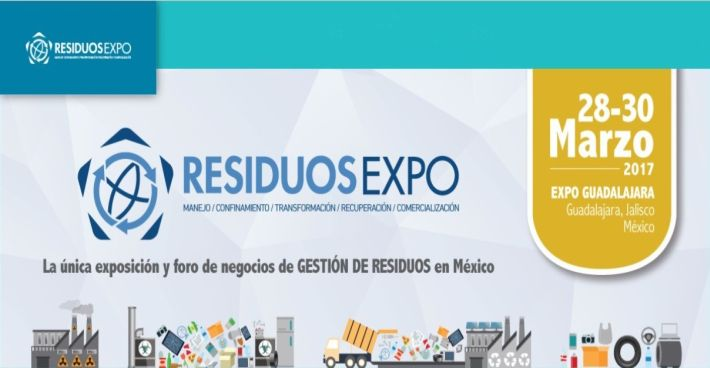 SFCU Repräsentant Christoph Mayrhofer auf der Messe Expo Residuos in Guadalajara (Mexiko)