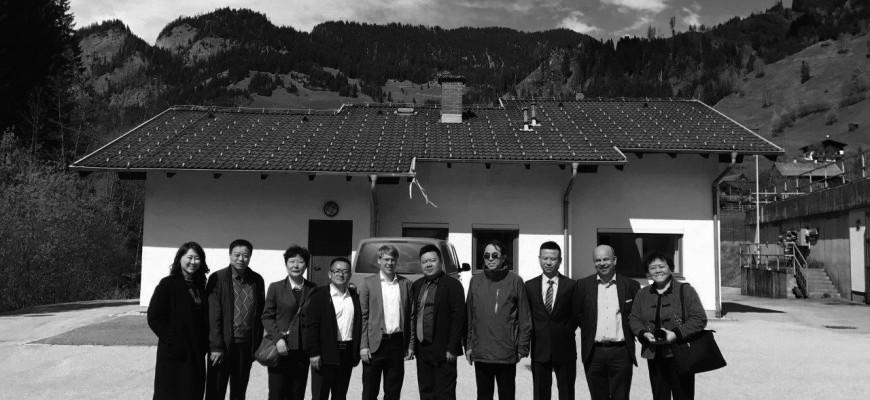 Chinesische Delegation aus der Provinz Shandong zu Besuch bei SFC Umwelttechnik GmbH