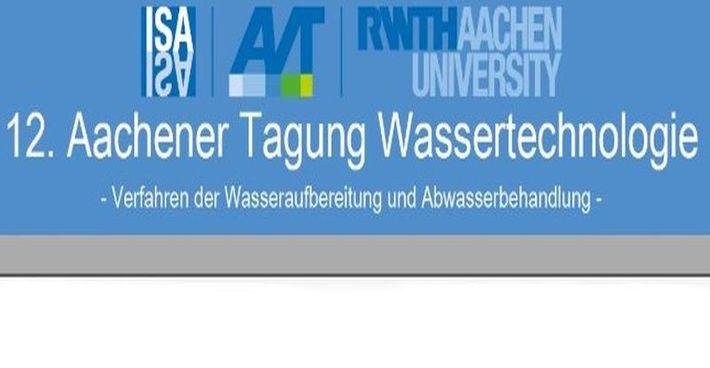SFC Umwelttechnik GmbH auf der 12. Aachener Tagung Wassertechnologie
