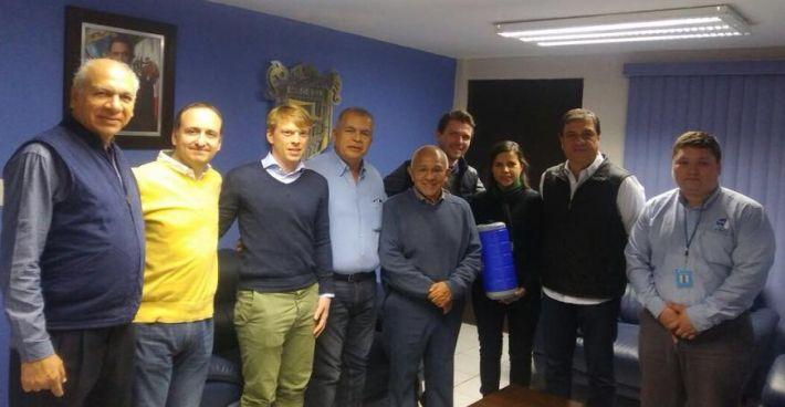 C-MEM Spezialist Dr. Simon Jabornig wieder auf Mexikoreise