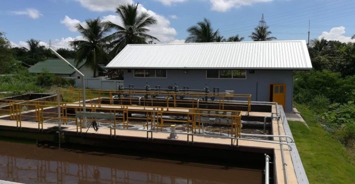 Extension of C-MEM wastewater treatment plant Mittaphab