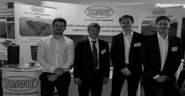 SFCU with Trant Engineering at the recognized 12th European Waste Water Management Conference