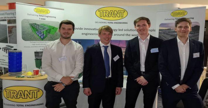 SFCU mit Trant Engineering auf der anerkannten 12. Europäischen Abwassermanagement-Konferenz