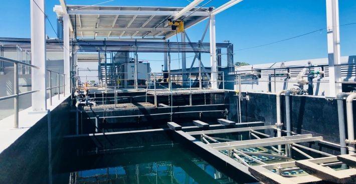 Inbetriebsetzung der C-MEM MBR-Anlage BIMBO Tijuana in Mexiko