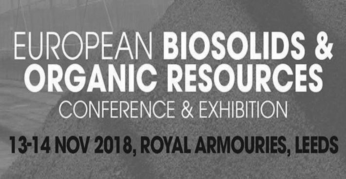 SFCU together with Trant Engineering at the European Biosolids and Organic Resources Conference in Leeds