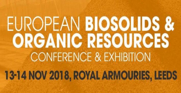 SFCU gemeinsam mit Trant Engineering auf der Europäischen Konferenz für Klärschlamm und organische Ressourcen in Leeds