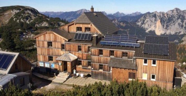 Abwasserreinigung mit C-MEM MBBR auf der Alpenhütte Wiesberghaus