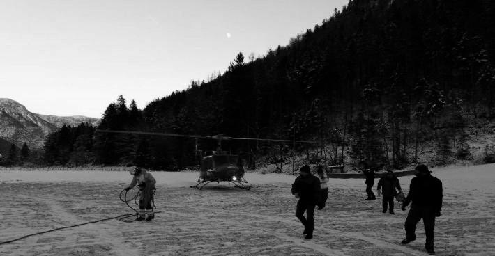 Inbetriebsetzung der C-MEM MBBR Anlage auf der Alpenhütte Wiesberghaus
