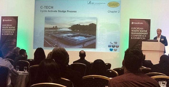 SFCU gemeinsam mit Trant Engineering auf der 13. Europäischen Abwassermanagement-Konferenz in Birmingham