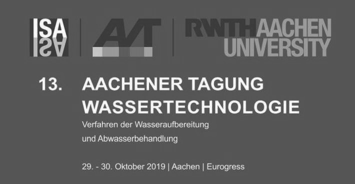 SFC Umwelttechnik GmbH at the 13th Aachen Conference Water Technology