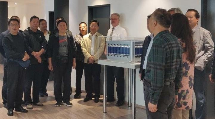Hochrangige chinesische Delegation besucht SFC Umwelttechnik GmbH