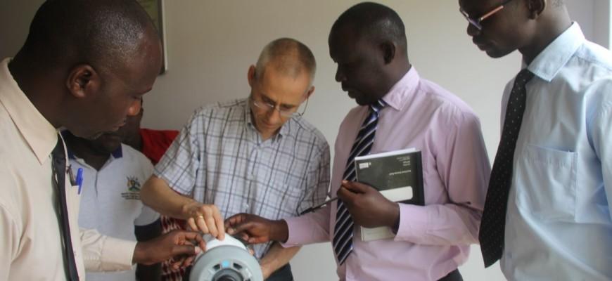 Trinkwasseraufbereitungsanlage Uganda