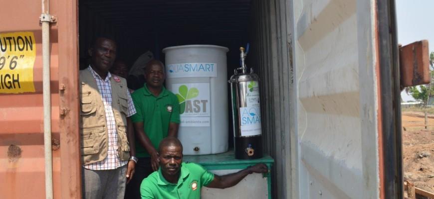 Trinkwasseraufbereitungsanlage Mosambik