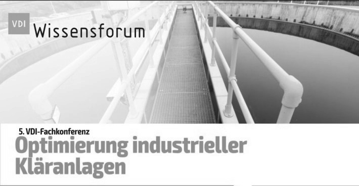 SFC Umwelttechnik GmbH at the 5th VDI conference Optimization of Industrial Wastewater Treatment Plants 2020