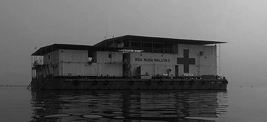 Übergabe einer C-MEM Zero Spende an Krankenhausschiff RSA3 in Jakarta