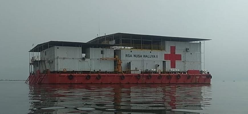 Drinking Water Treatment Plant Hospital Ship RSA3 – Indonesia
