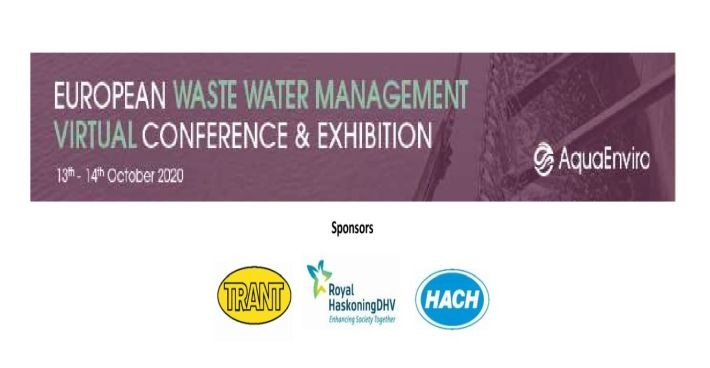 SFCU together with Trant Engineering at the first virtual European Wastewater Management Conference