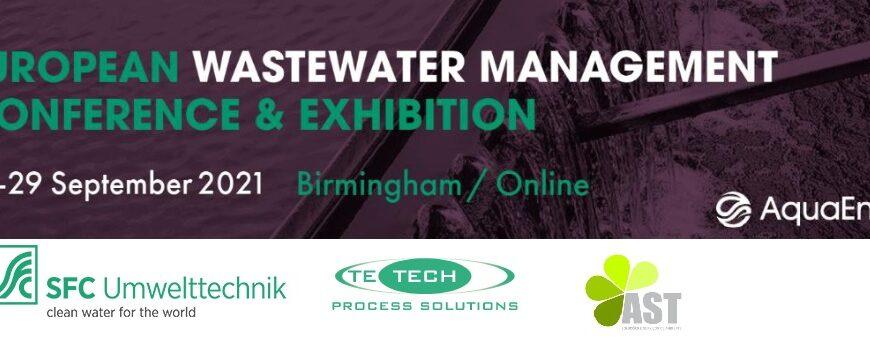 Treffen Sie uns bei der diesjährigen European Wastewater Management Konferenz (EWWM)